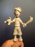 Tobuscus Adventures sculpture (unpainted) by b1938dc