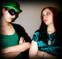 Green ones don't get along by Alice-Wilhemia-09