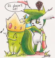 Happy Birthday to Chikorita94 by Yakalentos
