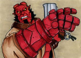 205. Hellboy by Christopher-Manuel