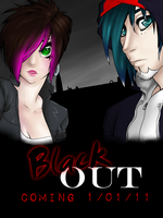 BlackOUT - Promotional Poster by kijonaia