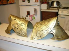 Zelda Shoulder Armor by Forcebewitya