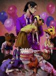 FnAF - Purple Guy and the Dead Children by LadyFiszi