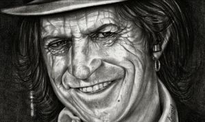 Keith Richards by emizael