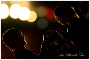 silhouette love by rezaaditya7