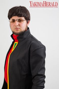 Gendo Ikari - Ricster Cosplay in Yak. Herald #01 by RBIII-Ricster
