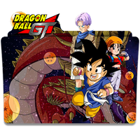 Dragon Ball GT - Icon Folder by ubagutobr