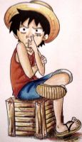 luffy mines for one piece XD by eggiemon