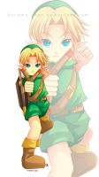 -- Zelda : Child Link -- by Kurama-chan