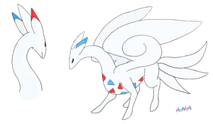 Togekiss Dragon by RatherPeculiar