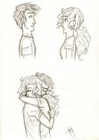 Percabeth Reunion by blindbandit5