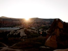 Watching sunrise from the balloon by jacobjellyroll