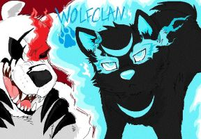 Wolfclan game title screen by Kaotheroogoncreator