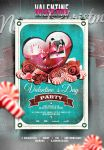 Valentine's Day Flyer/Poster Vintage Vol.1 by elisamaggit