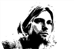 kurt cobain by aaev4