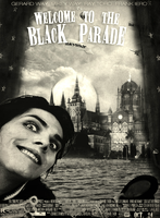 Welcome to the Black Parade [Poster Contest Entry] by fueledbychemicals