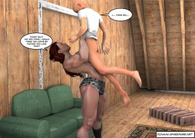farm girl lifts city boy by jstilton
