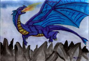 Dragon for Iybran by Worm-love