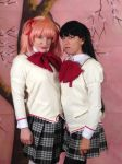 Madoka And Homura by MeahowCosplay