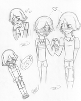Noah doodles +Some NoCo+ by sithdog1