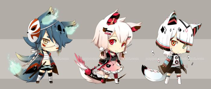 [CLOSED] Adopt Set 11 by Chibi-Townshend