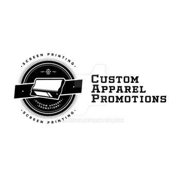 Custom Apparel Promotions Logo by glampop