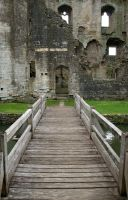 Stock - Nunney Castle 8 by OghamMoon