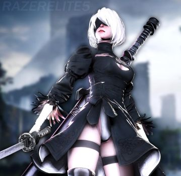 2B (Updated) by Razerelite5