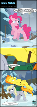 Snow Mobile by Toxic-Mario