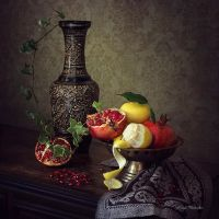 Still Life oriental by Daykiney