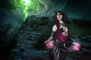 Morrigan cosplay by Nebulaluben