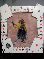 Gambit Cross Stitch - DONE by yumeleona23