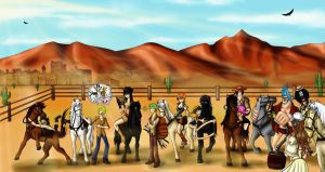 OP Wild Wild West -Commission- by Ferchozaki