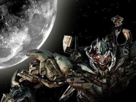 DOTM Megatron Altered Pic by ConstantM0tion