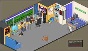 Pixel Art: My old Living Room by SoenkesAdventure