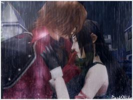Rain and silent Tears by Dark6Nika