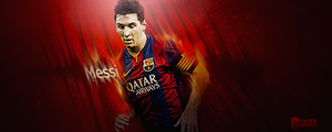 messi smudge sign + psd + speedart by elatik-p