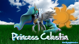 Princess Celestia : Realism Is Magic by jayjaybirdsnest