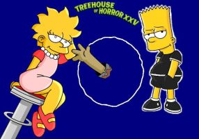 Treehouse Of Horror XXV 3 by KatieandHelen