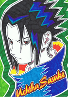 Sasuke retro by ConkerTSquirrel