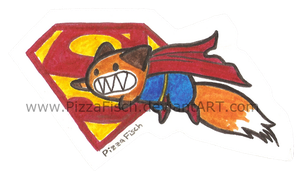 It's a Bird...It's a Plane...It's Superfox by PizzaFisch