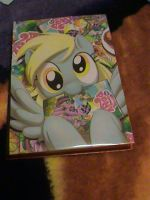 MLP FIM-Custom Derpy Comic Hardcover by KrazyKari