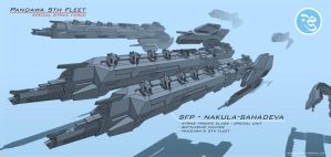 Pandawa's  5th Fleet by qblmsthf
