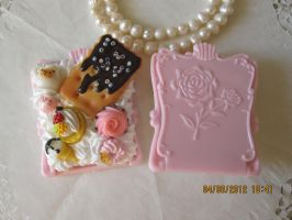 Victorian Mirror Pink by AngelicLight100