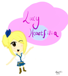 Chibi Lucy Heartfilia by littlesisterrapture