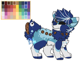 AJ palette challenge by Fable-Paradox