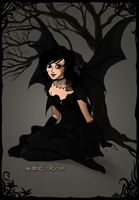Darkness the Fairy by PiccoloFreakNamick