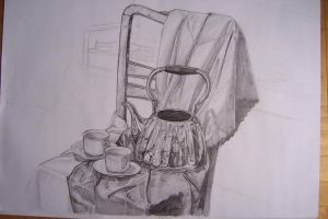 Still Life with Tea by aangeel