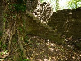 Castle Stairs 3 by Dragoroth-stock