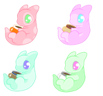 Marshmallow Dragons Adopt 1 (closed) by AlphaPower